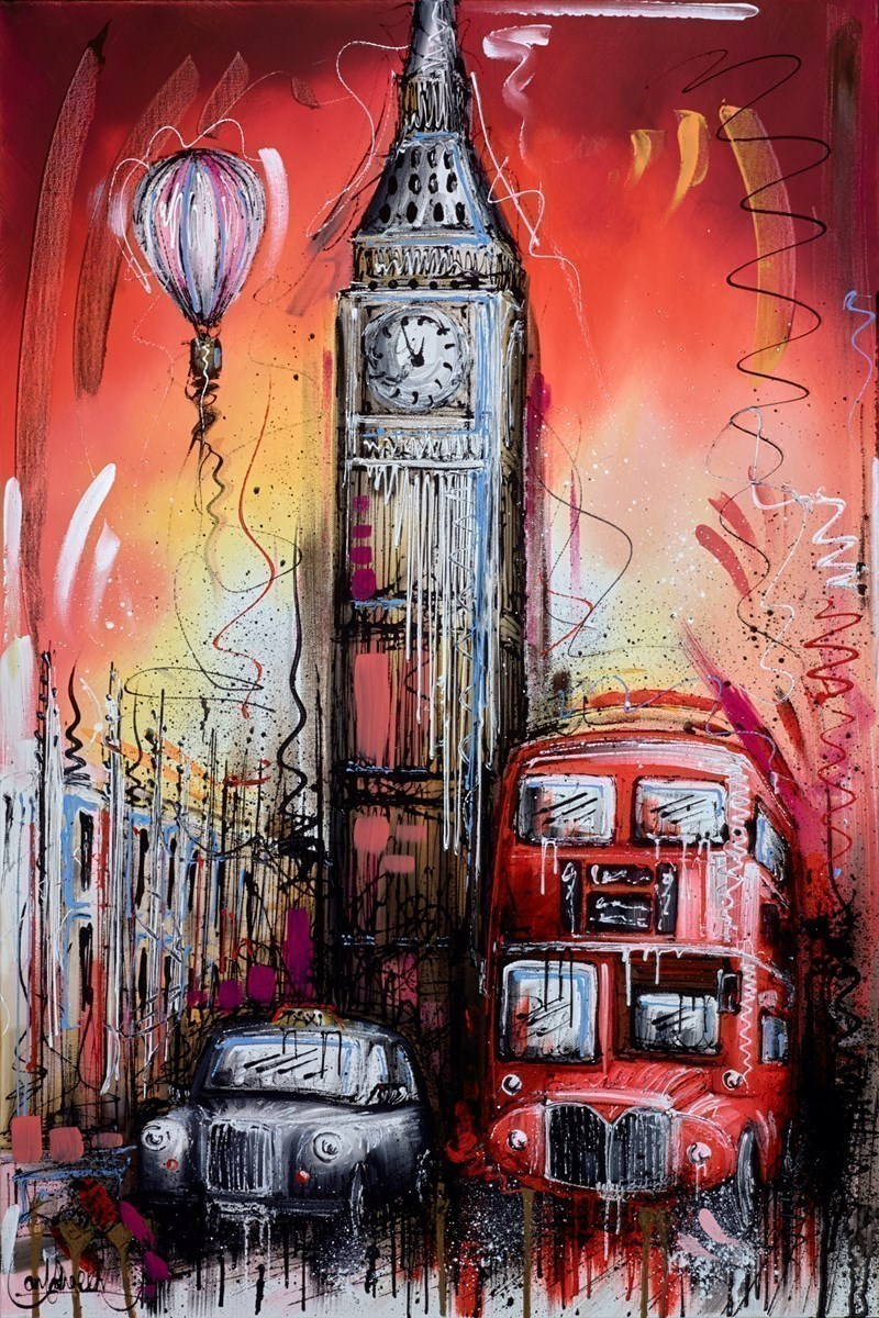 Up, Up and Away IV by Samantha Ellis -  sized 24x36 inches. Available from Whitewall Galleries